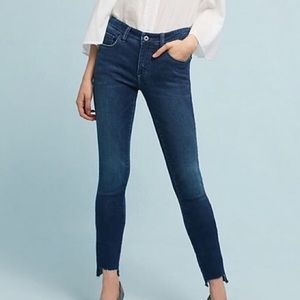 Pilcro Anthropologie mid rise skinny jeans 27 inch